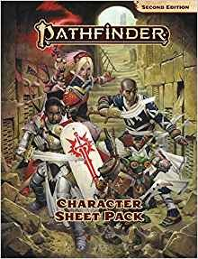 Pathfinder 2nd Edition Character Sheet Pack