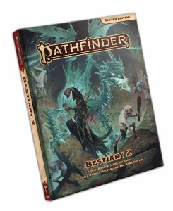 Pathfinder Bestiary 2 Hardcover 2nd Edition