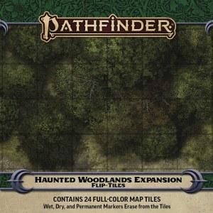 Pathfinder Flip-Tiles Haunted Woodlands Expansion Set