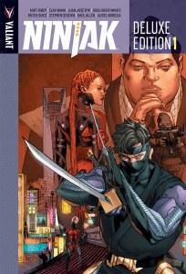 Ninjak Deluxe HC Vol 01