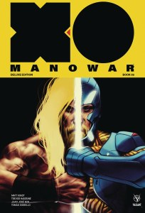 X-O Manowar (2017) Matt Kindt DLX HC Vol 02