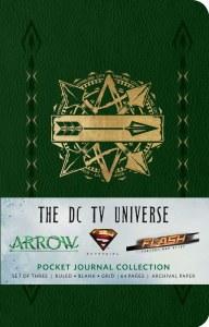 DC TV Universe 3 Pack Journals