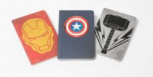 Avengers 3 Pack Mini Journals