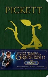 Fantastic Beasts The Crimes of Grindelwald Pickett Ruled Pocket Journal