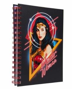 DC Comics Wonder Woman 1984 Spiral Notebook