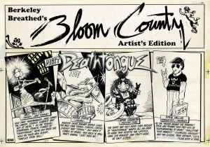 Berkeley Breathed Bloom County Artist Ed HC