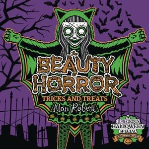 Beauty Of Horror Sc Tricks & Treats Halloween Coloring Book