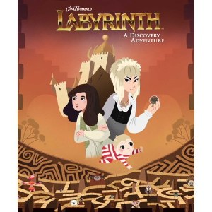 Jim Henson Labyrinth Discovery Adventure HC