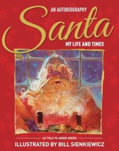 Santa My Life & Times Illustrated Autobiography HC