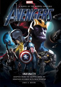Avengers Infinity HC A Novel of the Marvel Universe