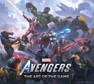 Art of Avengers Video Game HC
