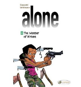 Alone GN Vol 02 The Master of Knives