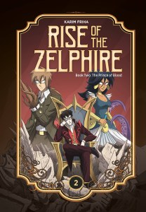 Rise Zelphire HC Book 02 Prince of Blood