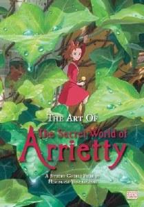 Art of The Secret World of Arietty HC