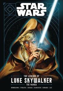 Star Wars The Legends of Luke Skywalker Manga GN