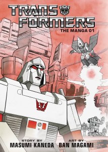 Transformers The Manga HC Vol 01 PX