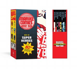 Marvel Box of Super Heroes 80th Anniversary Notebook Set