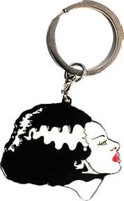 Bride Of Frankenstein Keychain