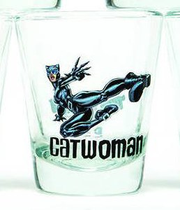 DC Catwoman Shot Glass
