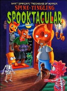 Bart Simpson Tree House of Horror Spine-Tingling Spooktacular