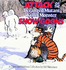 Calvin and Hobbes Attack Deranged Mutant Killer Monster