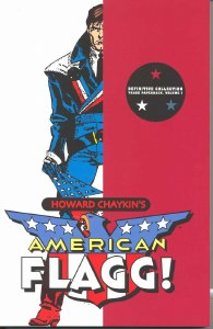 American Flagg Definitive Collection TP  Vol 01