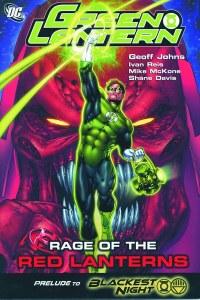 Green Lantern Rage of the Red Lanterns TP