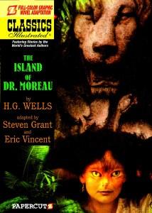 Classics Illustrated #12 Island of Dr Moreau HC