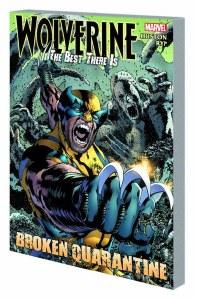 Wolverine Best There Is Broken Quarantine TP