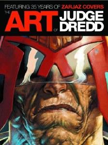 Art of Judge Dredd 35 Years of Zarjaz Cvrs HC