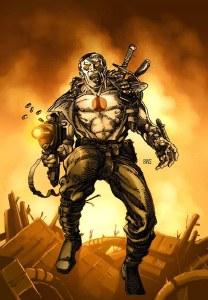 Valiant Masters Bloodshot HC VOL 01