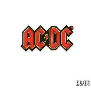 AC DC Logo Enamel Pin