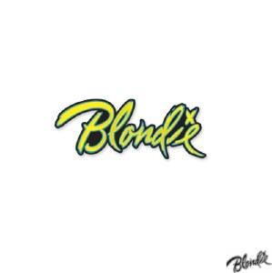 Blondie Logo Enamel Pin