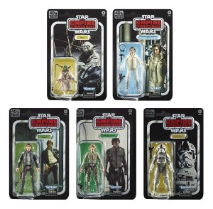 Star Wars Black ESB 40th Wave 1 Complete Set of 5