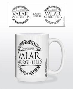Game of Thrones Valar Morghulis Mug