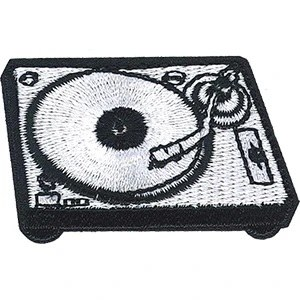 Record Player Patchpin