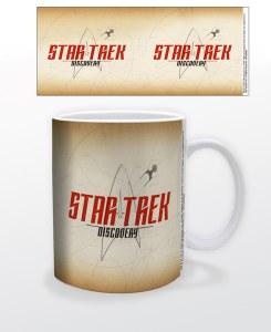 Star Trek Discovery Parchment 11 oz Mug