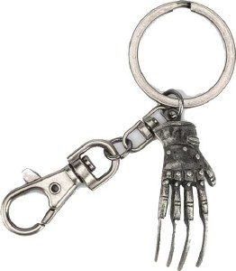 A Nightmare on Elmstreet Glove Keychain