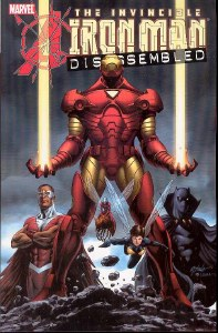 Avengers Dissasembled Iron Man TP