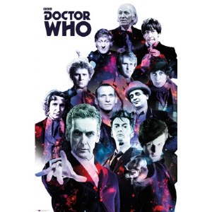 Doctor Who 12 Doctors Poster