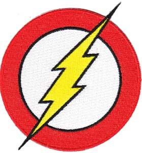 DC Comics Originals Flash Logo Patch