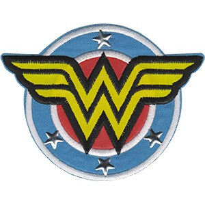 Wonder Woman Shield with Studs Patch