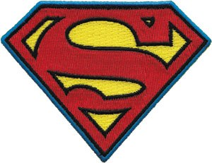 DC Comics Superman Logo Patch