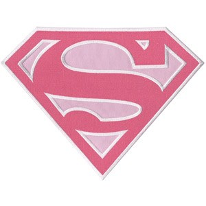 DC Supergirl Back Patch