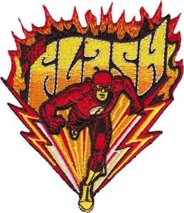 DC Comics Flash Fast Run Patch