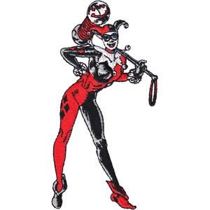 DC Harley Quinn Patch