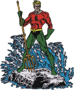 Aquaman Patch