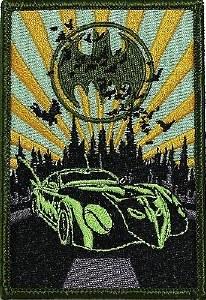 Batmobile Patch