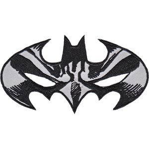 DC Comics Batman Mask Logo Patch
