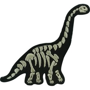 Brachiosaurus Skeleton Patch